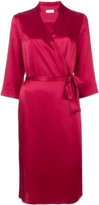 Tonello wrap midi dress