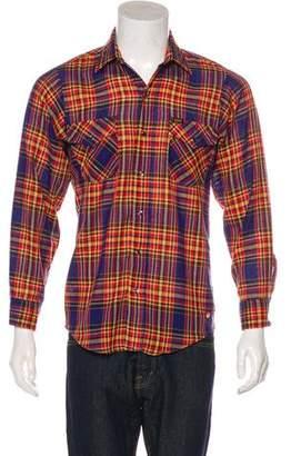 Aviator Nation Woven Button Shirt