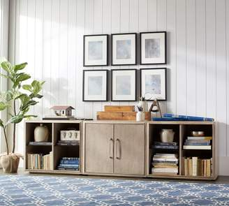 Pottery Barn Danielle Center Two Door Cabinet TV Stand