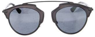 Christian Dior Round Tinted Sunglasses