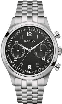 Bulova 43mm Men's Chronograph Bracelet Watch