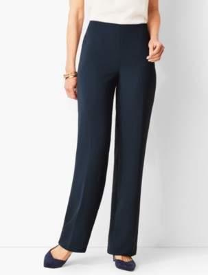 Talbots Refined Crepe Wide-Leg Pants