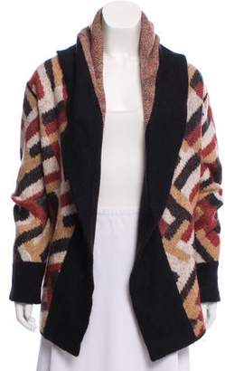 Missoni Long Sleeve Open Front Cardigan
