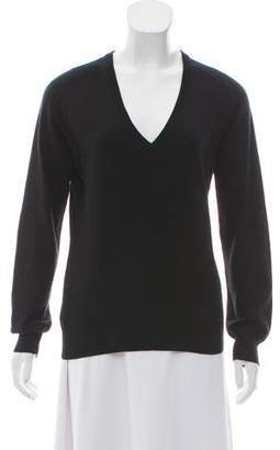 Prada Sport Cashmere Blend V-Neck Sweater