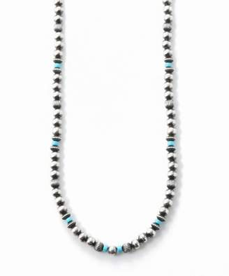 Deuxieme Classe (ドゥーズィエム クラス) - L'Appartement DEUXIEME CLASSE ◇HARPO SILVER BEADS*TURQUOISE ネックレス(75cm)