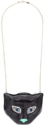 Gucci Cat locket necklace