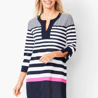 Talbots Swim Tunic - Stripe