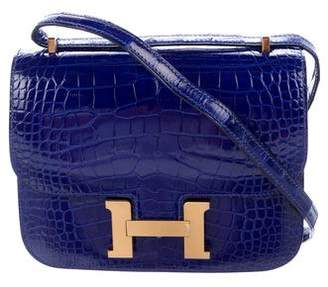 Hermes 2017 Alligator Mini Constance 18 w/ Tags