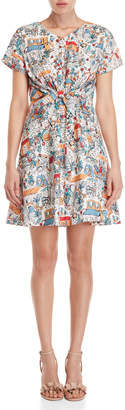 Yumi Retro Traveller Dress