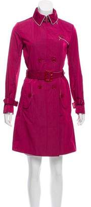 Armani Collezioni Double-Breasted Trench Coat w/ Tags