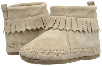 Robeez Cozy Ankle Moccasin Soft Sole Boy's Shoes