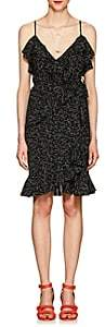 Derek Lam 10 Crosby Women's Silk Wrap Dress-Black
