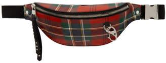 Alexander McQueen Red Harness Bum Bag