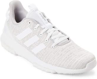 adidas Grey & White Cloadfoam Racer Sneakers
