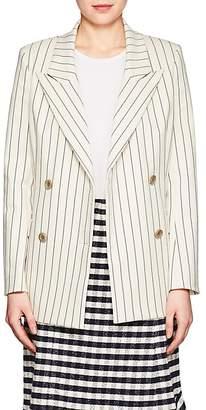 LES COYOTES DE PARIS Women's Rowina Pinstriped Double-Breasted Blazer