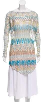 Missoni Patterned Knit Tunic