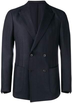 Ermenegildo Zegna double breasted blazer