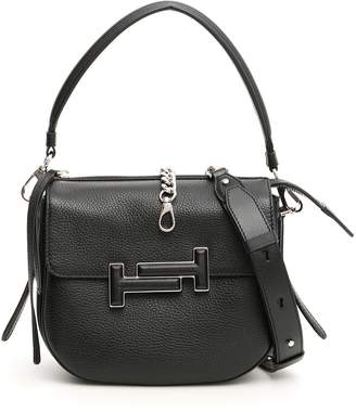 Tod's Double T Satchel Chain Tote Bag