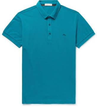 Etro Cotton-Piqué Polo Shirt