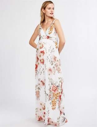 8e2f9ee58b9 Pietro Brunelli Murano Print Maternity Maxi Dress