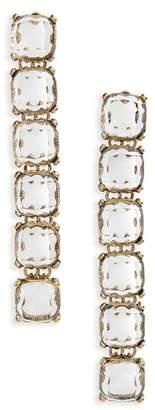 Shashi Isadora Linear Drop Earrings