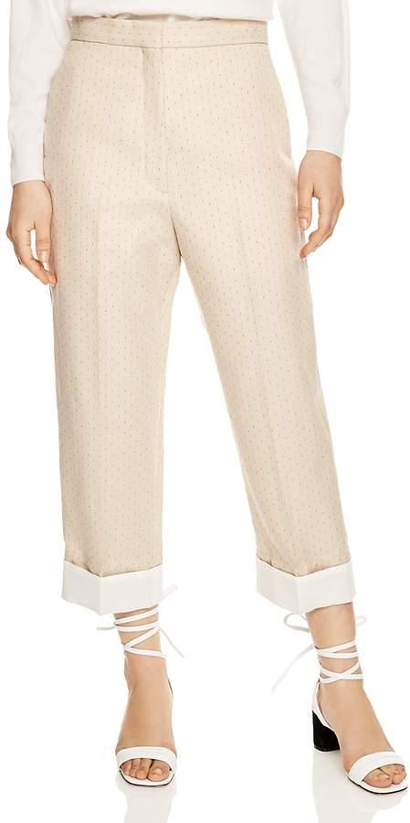 Harriet Cropped Printed Pants