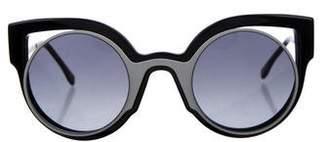 Fendi Paradeyes Cat-Eye Sunglasses
