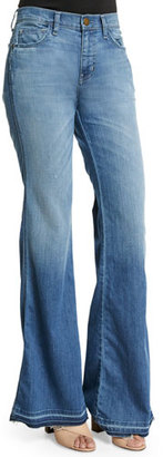 Current/Elliott The Low Bell Jeans, Island Hopper $248 thestylecure.com