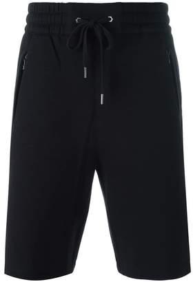 Helmut Lang lace-up detailing track shorts