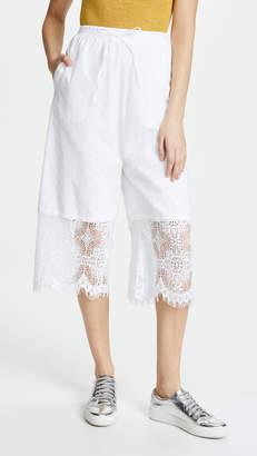 McQ Alexander McQueen Broderie Summer Pants