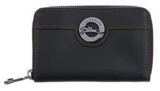 Longchamp Compact Leather Wallet