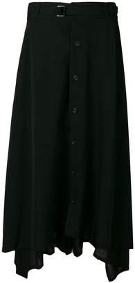 Yohji Yamamoto buttoned shirt trousers