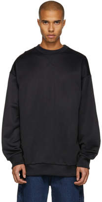 Marques Almeida Black Oversized Sweatshirt