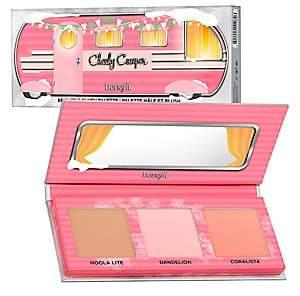 Benefit Cosmetics Cheeky Camper Mini Blush & Bronzer Palette - $48 Value