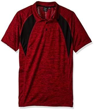 Burnside Men's Justice Ultra Soft Slub Cotton Short Sleeve Polo Shirt