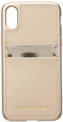 Michael Kors Metallic Phone Cover with Pocket 8
