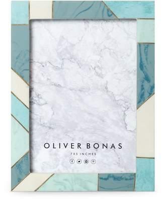 Oliver Bonas Modena Gold Block Frame 5x7