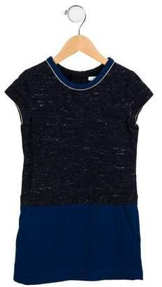 Chloé Girls' Casual Short Sleeve Dress