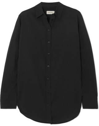 Matteau - Cotton-voile Shirt - Black