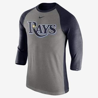 Nike Tri Raglan (MLB Rays) Men's 3/4 Sleeve Top