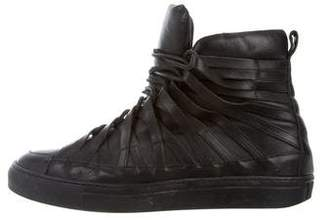 Damir Doma Multistrap High-Top Sneakers