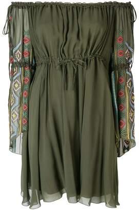 Dondup off-the-shoulder dress