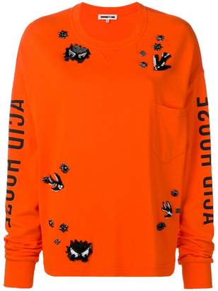 McQ embellished sweater