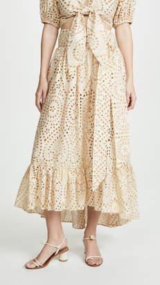 Lisa Marie Fernandez Nicole Eyelet Skirt