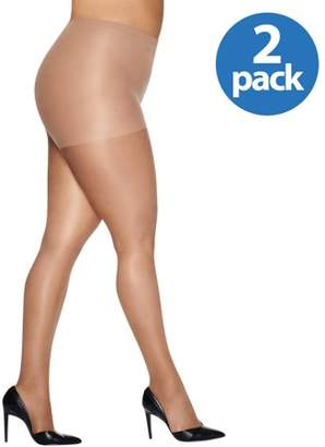 Just My Size Women's Smooth Finish Control Top Panty Hose