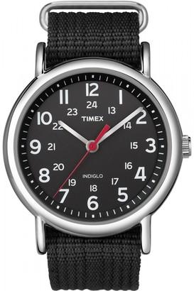 8f8ea0dc2a8c Timex Unisex Indiglo Weekender Watch T2N647