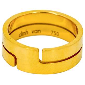 Dinh Van Seventies yellow gold ring