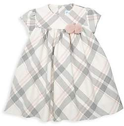 Luli and Me Baby's & Little Girl's Shady Pom-Pom Plaid Dress