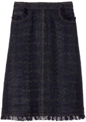 Tory Burch ARIA TWEED SKIRT