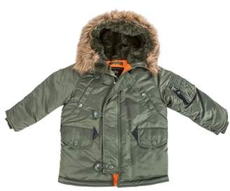 Alpha Industries N-3B Water Resistant Faux Fur Parka